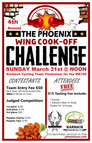 4th Annual Wing Cook-Off